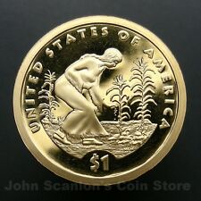 2009-S Native American Sacagawea Dollar- Gem Proof Deep Cameo U.S. Coin