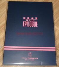 BANGTAN BOYS BTS LIVE 花樣年華 on stage : epilogue OFFICIAL GOODS PROGRAM BOOK NEW
