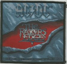 AC/DC Razors Edge Woven Patch Sew On Official Band Merch
