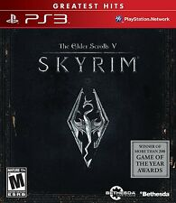 Elder Scrolls V: Skyrim (greatest hits) (Sony Playstation 3, 2011)