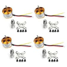 4Pcs A2212 1000KV Brushless Outrunner Motor 13T for DIY RC Aircraft Drone