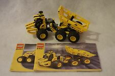 VERY RARE Lego Technic 8451 Constuction Dumper Used 100% Complete Set