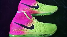 MENS NIKE ZOOM ALL OUT FLYKNIT OC PINK VOLT SZ 11