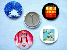 Nick Cave-Set Of Four Badges Nick Cave And The Bad Seeds PJ Harvey