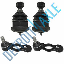 4pc Kit: New Front Upper and Lower Ball Joint Set Crown Victoria Grand Marquis
