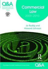 Q&A Commercial Law 2009-2010 (Questions and Answers), Good Condition Book, Reddy