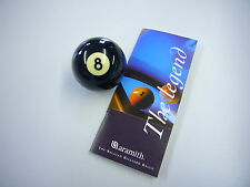 "ARAMITH 2"" BLACK 8 Pool Ball REPLACEMENT"