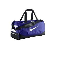 Nike Duffel Bag Max Air Training Bags Sports Purple Black White Gym BA4895-501
