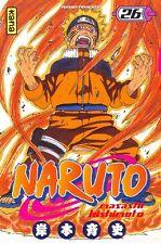 NARUTO tome 26 Kishimoto manga shonen