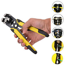 Professional Automatic Wire Stripers Cutter Stripper Crimper Plier Terminal HU