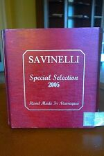 SAVINELLI SPECIAL SELECTION WOODEN CIGAR BOX - for Guitar, Jewelry Box, Purse