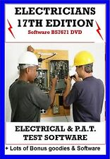 Electrical Test Certificates Software 17th Edition Pat Test + free bonus guides