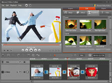 New Release : Movavi  Video Editor 12 , Edit Videos , AVI , MPEG for Windows