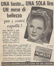 W1221 Shampo Palmolive - Pubblicità 1939 - Vintage Advertising