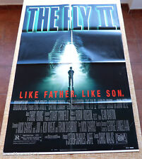 The Fly II Movie Poster, Original, Folded, One Sheet, year 1989, Litho in U.S.A.