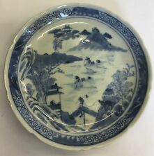 Antique Zangxi Period (1900-1910) Dish / Plate Mark Of Kangxi Nian Zhi 14.5cm