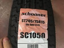 2 NEW ST 20575R15 Radial Express 8 PLY Trailer Tires 75R15 R15 75R 205 75 15