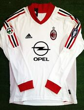 AC Milan away 2002-2003 shirt S M L XL Gattuso Nesta Inzaghi Shevchenko and etc.