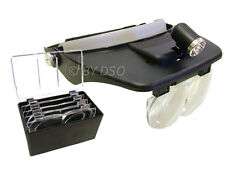 Powerful Head Magnifier with Light with LED Light For Lathe Inspection Model CNC