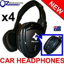 4x Headphones wireless car DVD mitsubishi Outlander Xtrail Pathfinder Pajero NEW