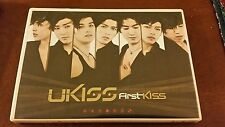 Ukiss first kiss dvd japan jp rare kpop k-pop bts got7 btob b.a.p exo b1a4 nuest