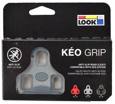 LOOK KEO GRIP Road Pedal Cleats 4.5° Grey Fits Classic, 2 Max Blade & BL. Carbon