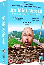 AN IDIOT ABROAD: Complete Collection: Series 1+2+3 [SKY] (DVD)~~~~BRAND NEW