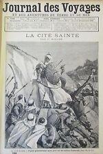 JOURNAL DES VOYAGES N° 793 de 1892  TUNISIE HISTOIRE CITE SAINTE  AFRIQUE SOUDAN