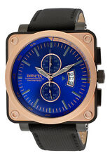 New Men's Invicta 16165 Corduba Square Blue Dial  Military Watch