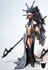 Dark elf queen lineage 2 girl rare 1/7 unpainted statue figure model resin kit