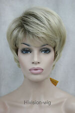 7 Color Short Straight Women Ladies Daily Hair wig Natural Hivision #E-VEGA