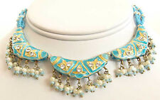 Affordable Elegance. Handcrafted, India, Lakh Necklace & Earrings