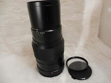 Bronica Zenzanon MC 5.6 250mm lens for ETR series, UV filter, front & rear caps