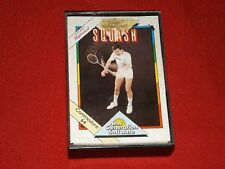 Jonah Barrington's Squash-Vintage COMMODORE 64 Juego-New Gen 1985-Buen Funcionamiento