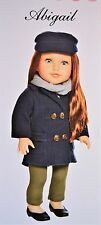"""Newberry Doll 18"""" Abigail Girl Doll New In Box for 3+ Years"""