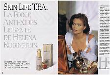 PUBLICITE ADVERTISING 094 1999 HELENA RUBINSTEIN anti-rides  (2 pages)