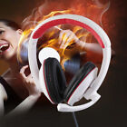 Gaming Headset Surround Hifi Stereo Headband Headphone 3.5mm with Mic for PC SM