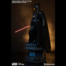 SIDESHOW Darth Vader Lord Of The Sith Premium Format Figure Statue NEW LED SABER