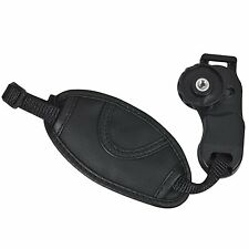 Camera Hand Wrist Grip Strap for SLR DSLR Canon Nikon PEOS Sony Pentax black