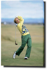 """JACK NICKLAUS CANVAS 30""""x20"""" PRINT POSTER PHOTO GOLF THE OPEN WALL ART"""