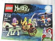 Lego THE MUMMY Monster Fighters 9462 sealed box ghost horse helicopter zombies