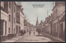 France Postcard - Hondschoote - Rue De L'Ouest  DR255