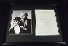 Edgar Bergen 16x20 Framed ORIGINAL Potato Salad Recipe & Photo Display