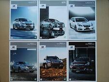 JDM SUBARU LEGACY Touring Wagon B4 Outback Original Sales Brochures Catalogs