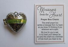 p Love You U MESSAGES FROM THE HEART Prayer Box Charm Ganz Valentines day