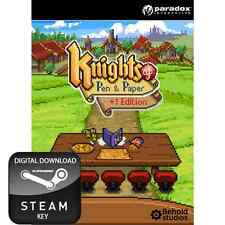 KNIGHTS OF PEN & AND PAPER +1 EDITION PC, MAC AND LINUX STEAM KEY