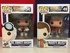 Funko POP! Back to the Future Marty McFly & Dr. Emmett Brown Vinyl Figures