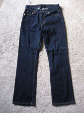 LEVI RED TAB Hipster Subtle Flare Blue Denim Jeans never worn with tags 5S