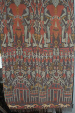 HAND WOVEN IKAT WALL HANGING FROM SUMBA