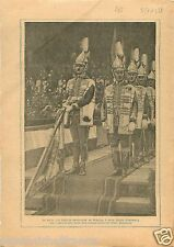 Flag Uniforms Soldiers Corps Gallants Hungary Légion d'Honneur 1934 ILLUSTRATION